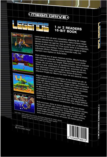 Contraportada Mega Drive Legends