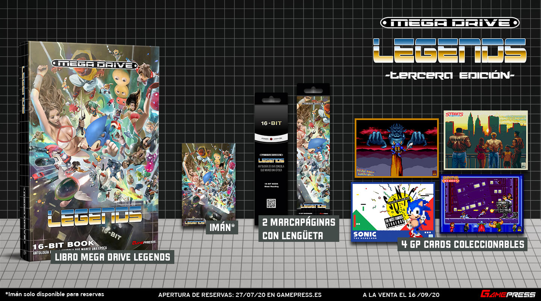 Mega Drive Legends Edición Estándar